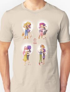 The Art Of Hugging Unisex T-Shirt