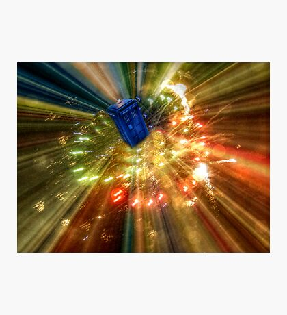 Time Travel is Possible Photographic Print