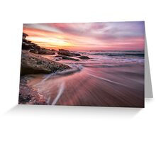 Tamarama Sunrise Greeting Card