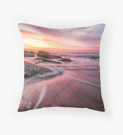Tamarama Sunrise Throw Pillow