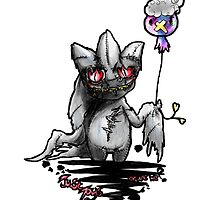 Banette and drifloon pokemon piece by AderynValentine