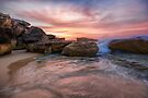 Tamarama Rocky Sunrise by yolanda