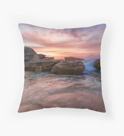 Tamarama Rocky Sunrise Throw Pillow