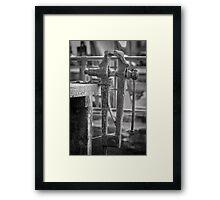 Old Vice Framed Print