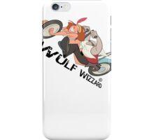 Popping Wheelies, Wulf Wizzard iPhone Case/Skin