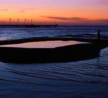 Tidal Pool at Dusk by PhotoJoJo