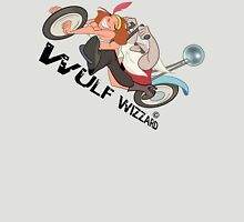 Popping Wheelies, Wulf Wizzard Unisex T-Shirt