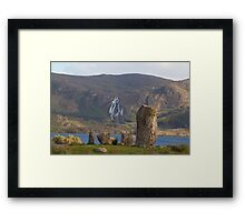 Standing stones Framed Print