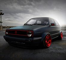 VW volkswagen golf gti by MariaDesign