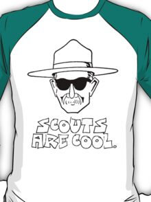 Scouts are cool. T-Shirt
