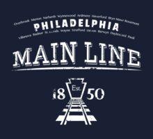 Philadelphia Main Line by jabbtees