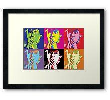 Bill Hicks - Pop Art Bill Framed Print