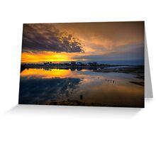 Ilha da Faro Sunset Greeting Card