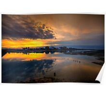 Ilha da Faro Sunset Poster