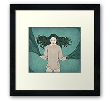 River deity Framed Print