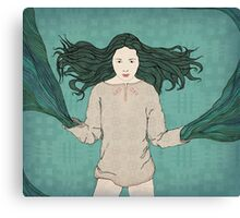River deity Canvas Print