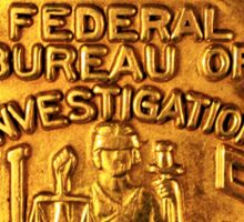 FBI badge Sticker