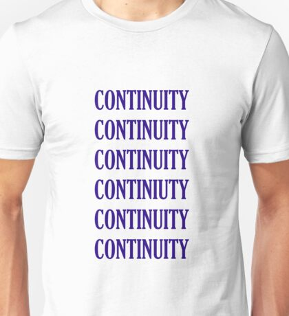 Tee: CONTINUITY Unisex T-Shirt