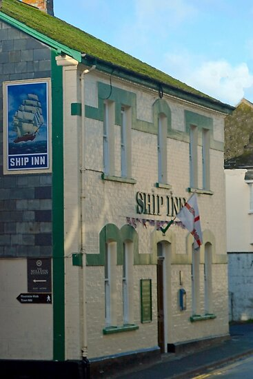Ship Inn, Lyme Regis Dorset UK by lynn carter