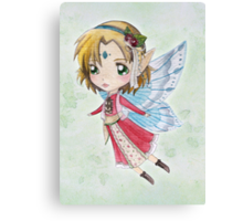 Watercolour Fairy Canvas Print