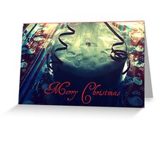Christmas cake photo card Greeting Card