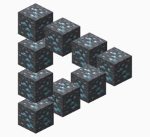 Diamond Block Illusion by georgeval