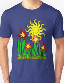 Fanciful Flowers T-Shirt