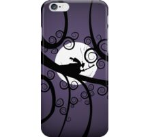 Samurai at Night iPhone Case/Skin