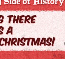 #2 The War on Christmas. Sticker