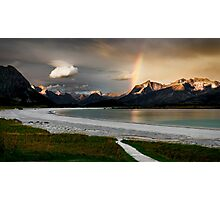 Morning in the Ramberg Photographic Print