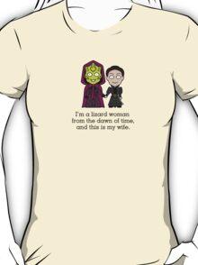 Madame Vastra and Jenny (shirt) T-Shirt