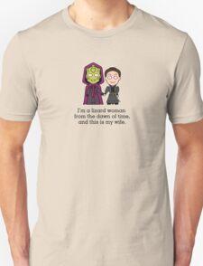 Madame Vastra and Jenny (shirt) Unisex T-Shirt