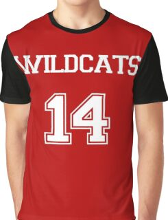 WILDCATS TROY BOLTON HIGH SCHOOL MUSICAL Graphic T-Shirt