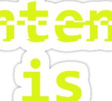 Paradox Shirt - This sentence is FALSE. Sticker