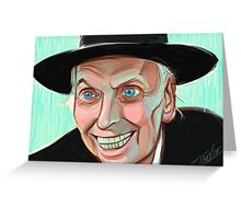 Reverend Kane Greeting Card