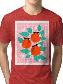 Bodacious - modern abstract minimal 1980s throwback memphis design trendy palm springs art Tri-blend T-Shirt