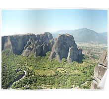 Meteora In Greece 5 Poster