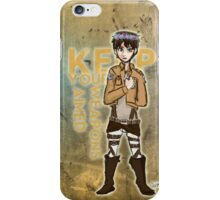 Keep Your Weapons Aimed iPhone Case/Skin