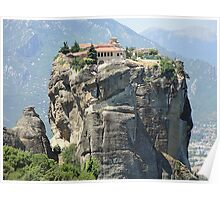 Meteora In Greece 10 Poster