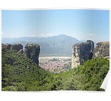 Meteora In Greece 11 Poster