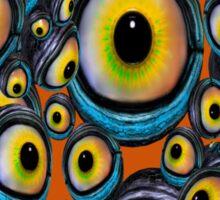 Halloween Eyeballs .. iphone case Sticker