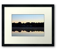 St. Johns River Sunrise Framed Print