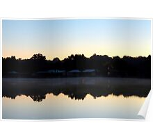 St. Johns River Sunrise Poster