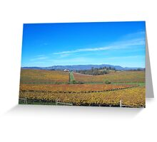 Winescapes of California Greeting Card