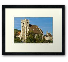 Austrian town Framed Print