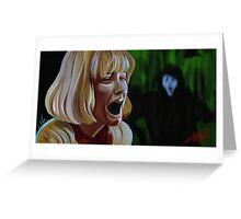 What's Your Favorite Scary Movie? Greeting Card