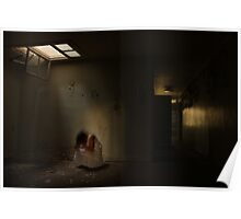 In the abandoned asylum (long exposure) Poster