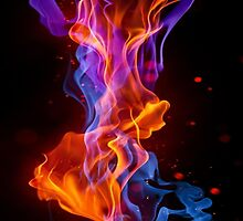Fire of shades by kobalos
