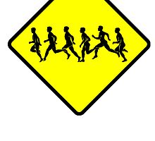 Runners Crossing by kwg2200