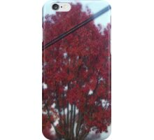 Surreal Red Tree iPhone Case/Skin